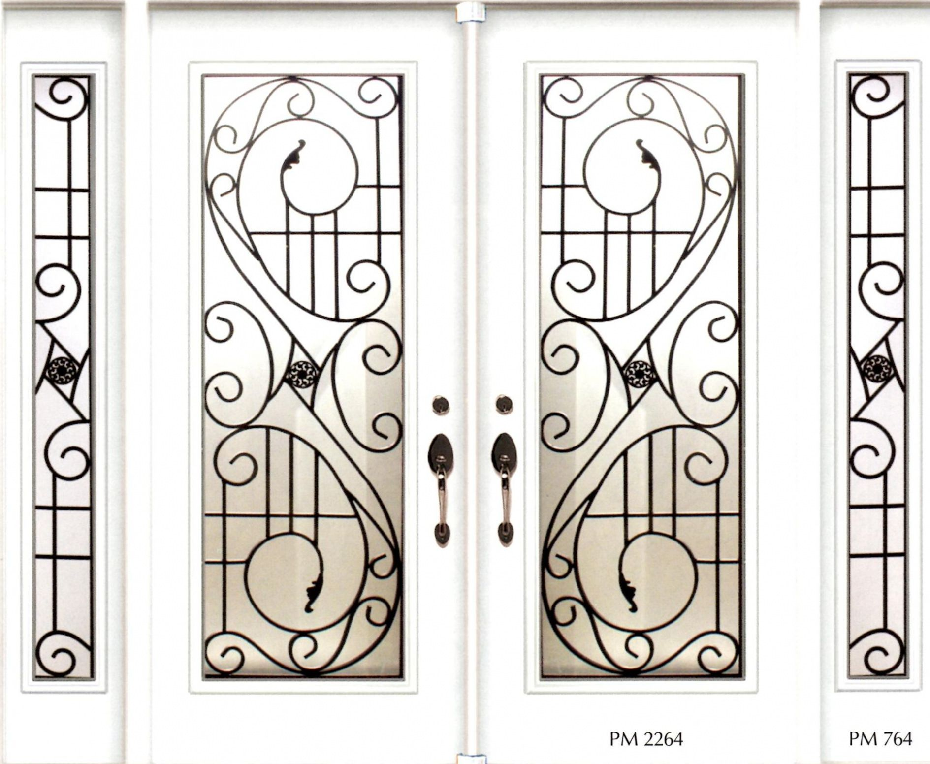 Fantastic Wrought Iron Inserts Stained Glass Door Inserts And Wrought Iron Door Inserts Wrought Iron Door Inserts Wrought Iron Decor Wrought Iron Doors
