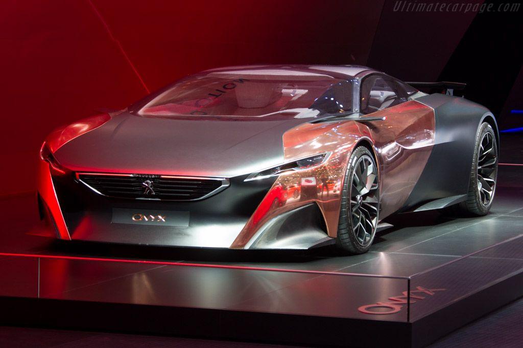 Peugeot Onyx Concept   2015 Geneva International Motor Show