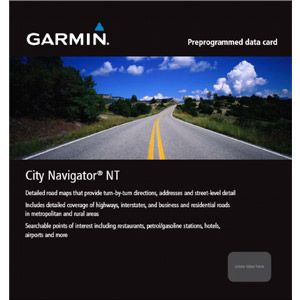 Garmin City Navigator Middle East & Northern Africa NT Maps