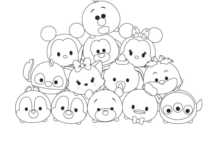 Tsum Tsum Coloring Pages Coloring Pages Design Wallpapers Coloring Pages Of Disney Tsum Tsum Tsum Tsum Coloring Pages Cute Coloring Pages Disney Coloring Pages