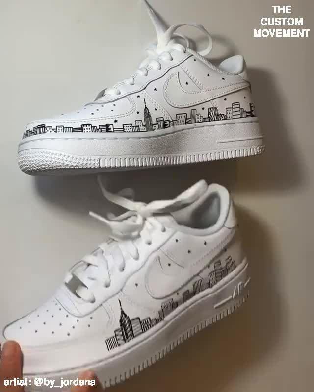 Custom Nike, Vans, Adidas, Air Force