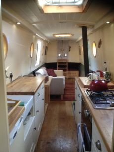Narrowboat interior | England | Pinterest | Narrowboat interiors ...