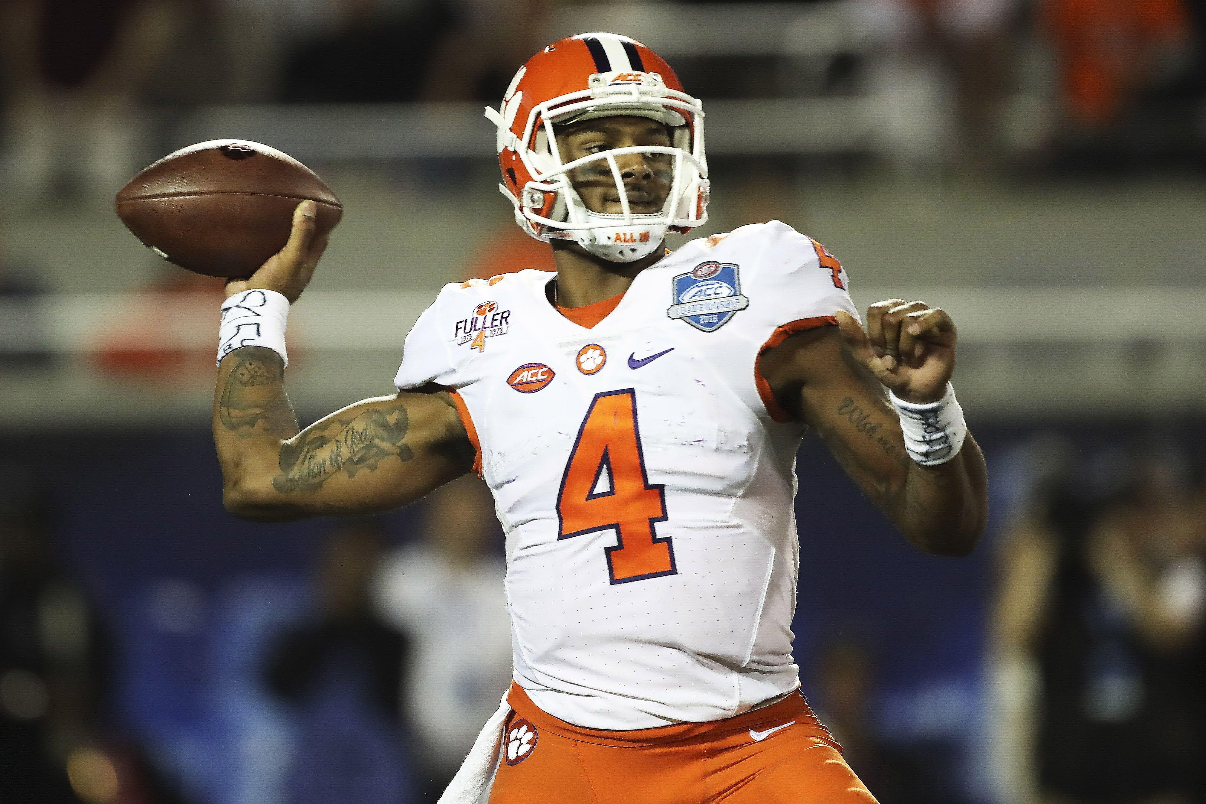 Dec 3, 2016; Orlando, FL, USA; Clemson Tigers quarterback