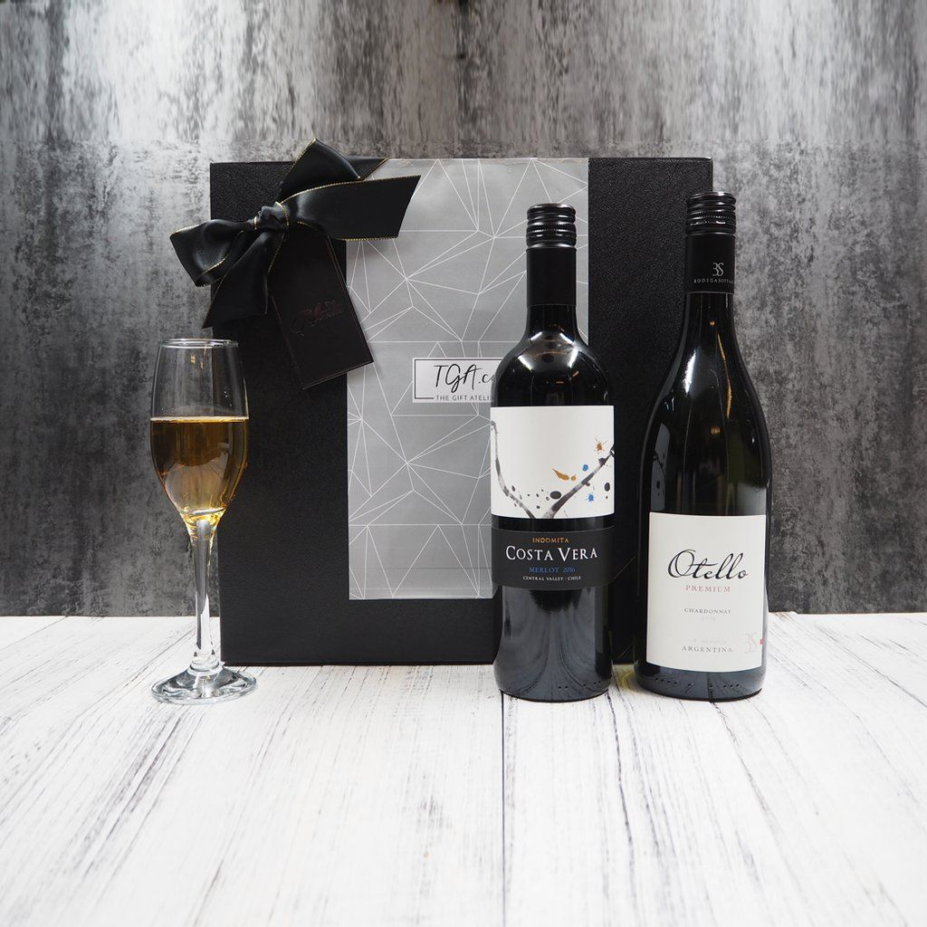 Wine Duo Gift Set from The Gift Atelier Singapore