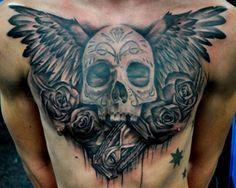 Pin En Tatuajes De Pecho