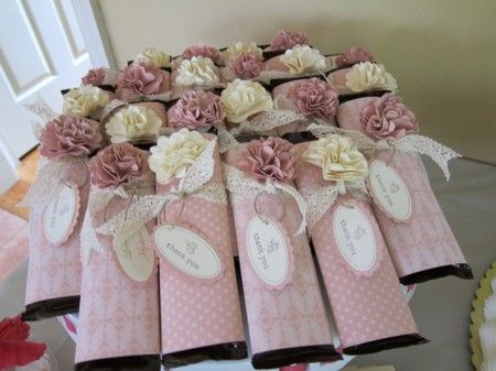 Candy Bar Favors Chocolate
