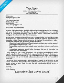 Executive Chef Resume Downloadable Chef Resume Samples Amp Writing Tips Companion Sample