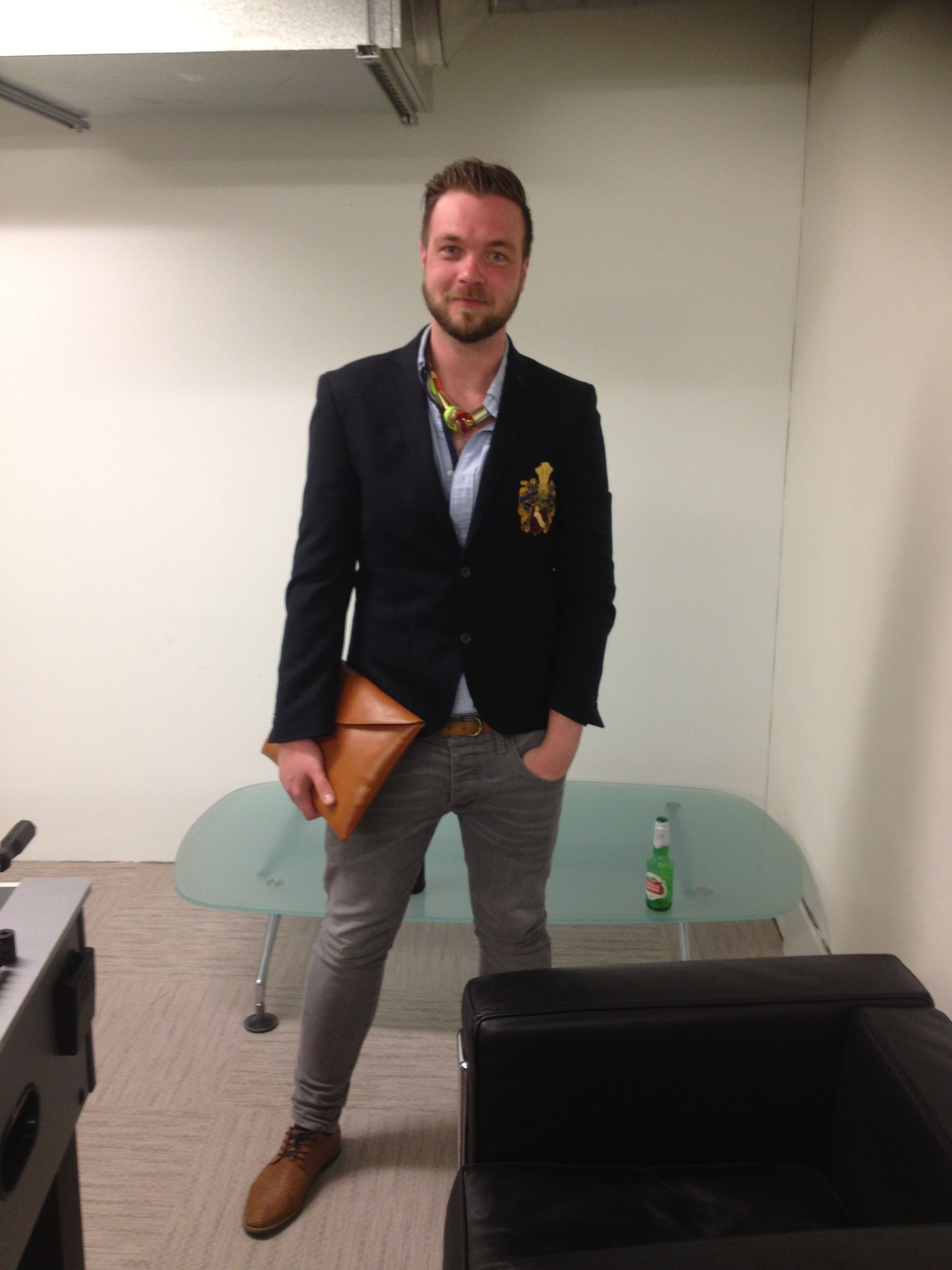 Gregor (Production Executive) looking the part #germanfashion #german #deutschland