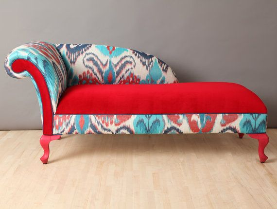 IKAT chaise lounge by namedesignstudio on Etsy | Shabby Chic Kitchen ...