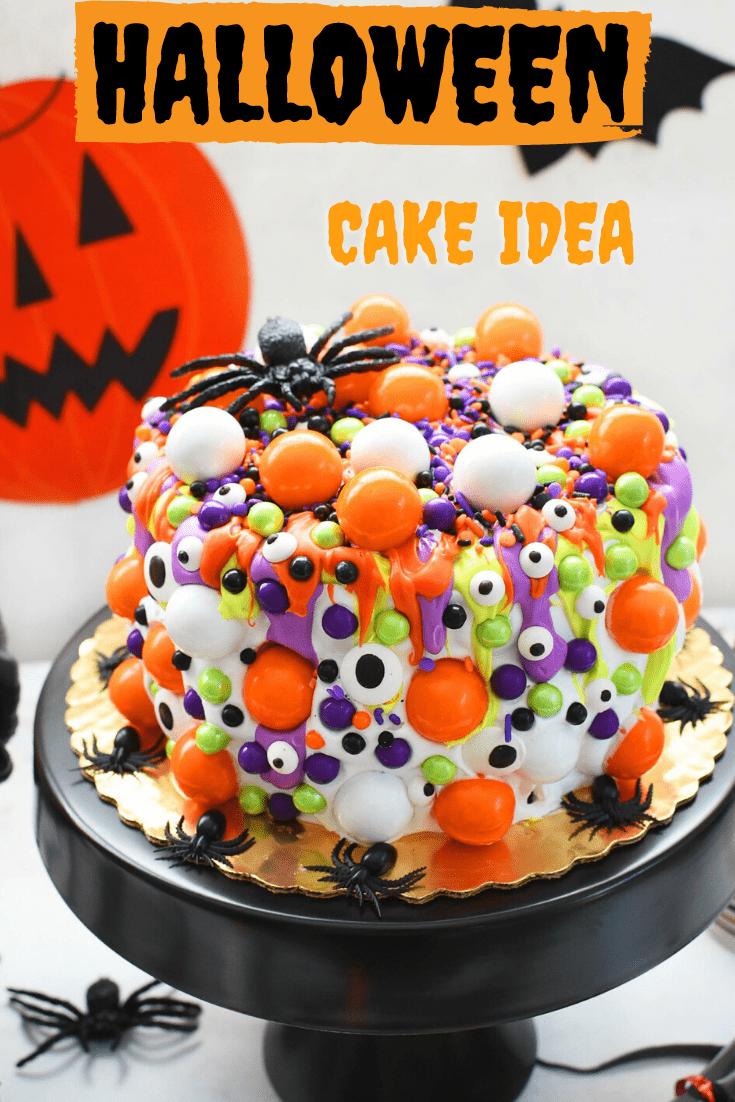 Halloween Cake Ideas 2020 Semi Homemade Halloween Cake & Cupcakes Ideas | Recipe in 2020