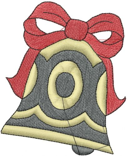 Christmas Bell Embroidery Design Annthegran Free Embroidery