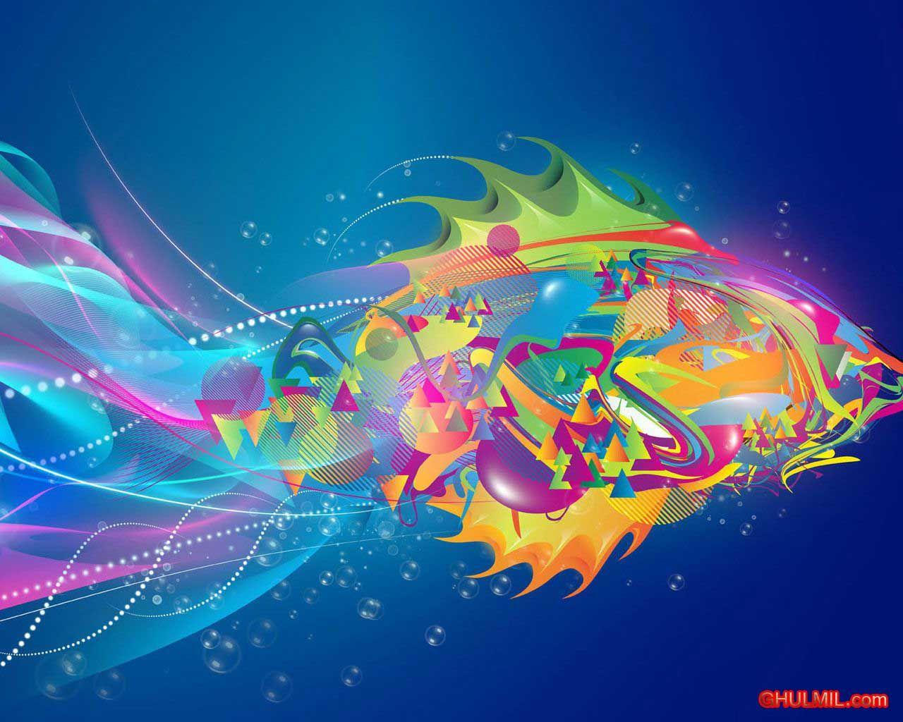 Free Downloads | peces multicolores