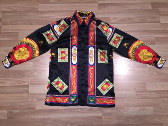 cheap versace silk shirts