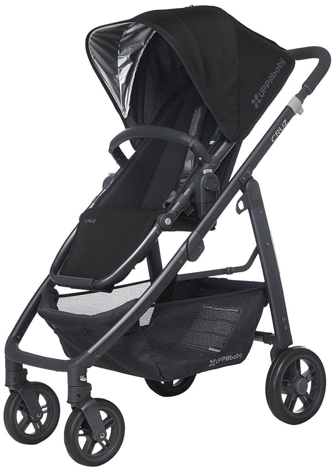 UPPAbaby Cruz Pushchair, Jake Black. A pushchair with all