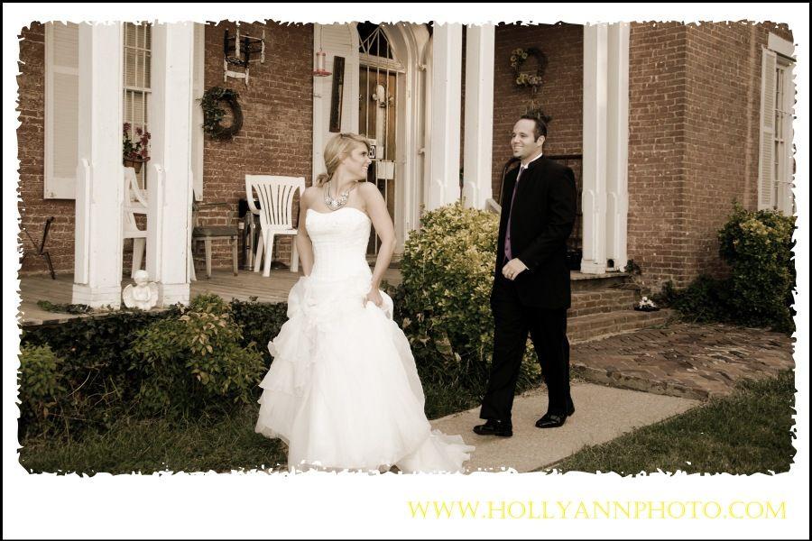On the bride, our beautiful Metropolitan