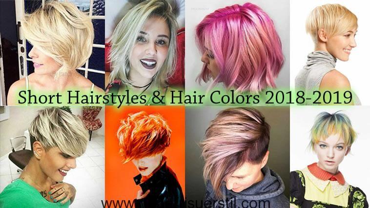 Haarfarben 2019 kurzhaar