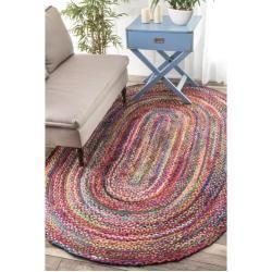 Photo of Hand-knotted carpet Tammara in BuntWayfair.de