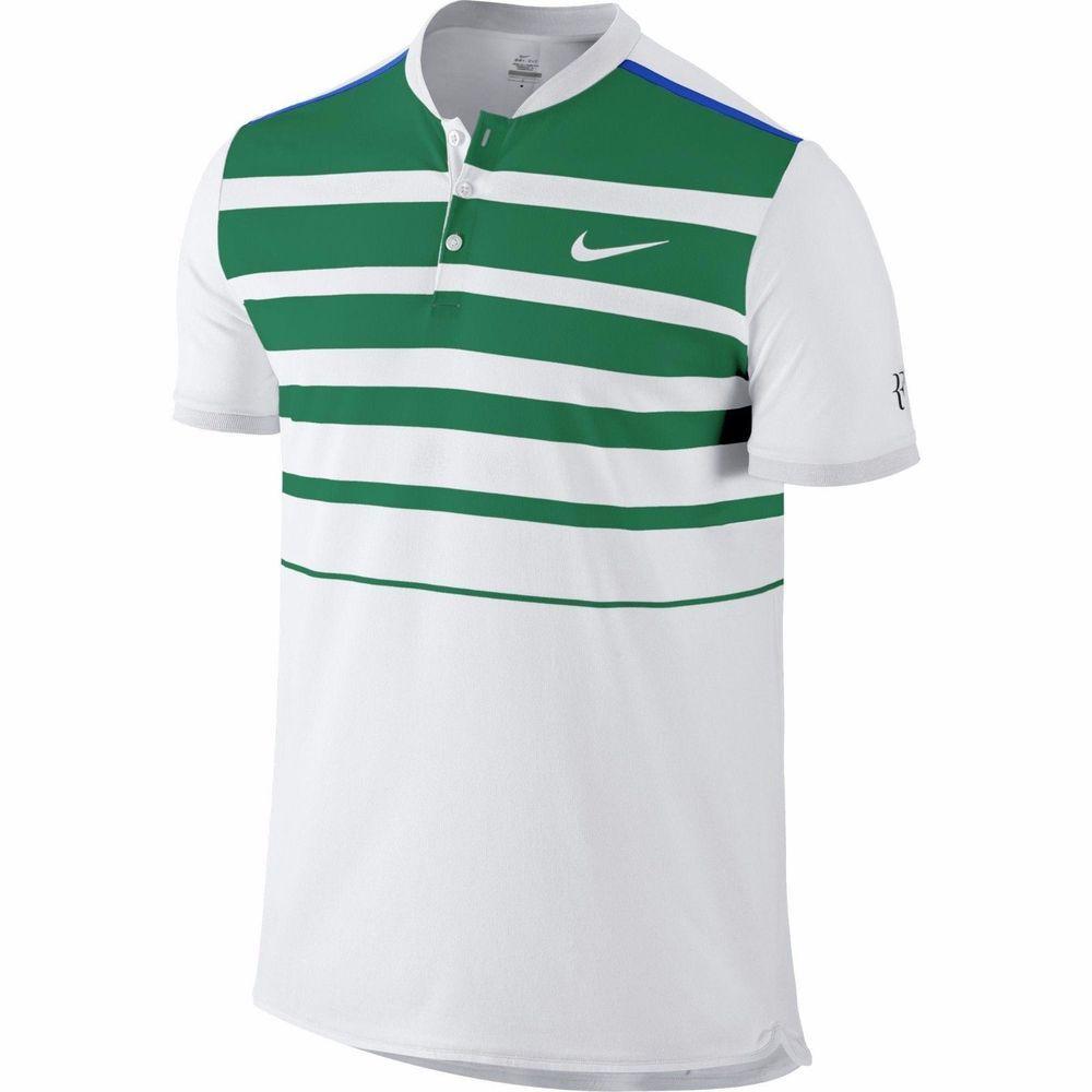 NIKE Men`s Premier RF Tennis Polo 728951-100 Roger Federer  100 Size Large  NWT  Nike 0d88c0489e3e