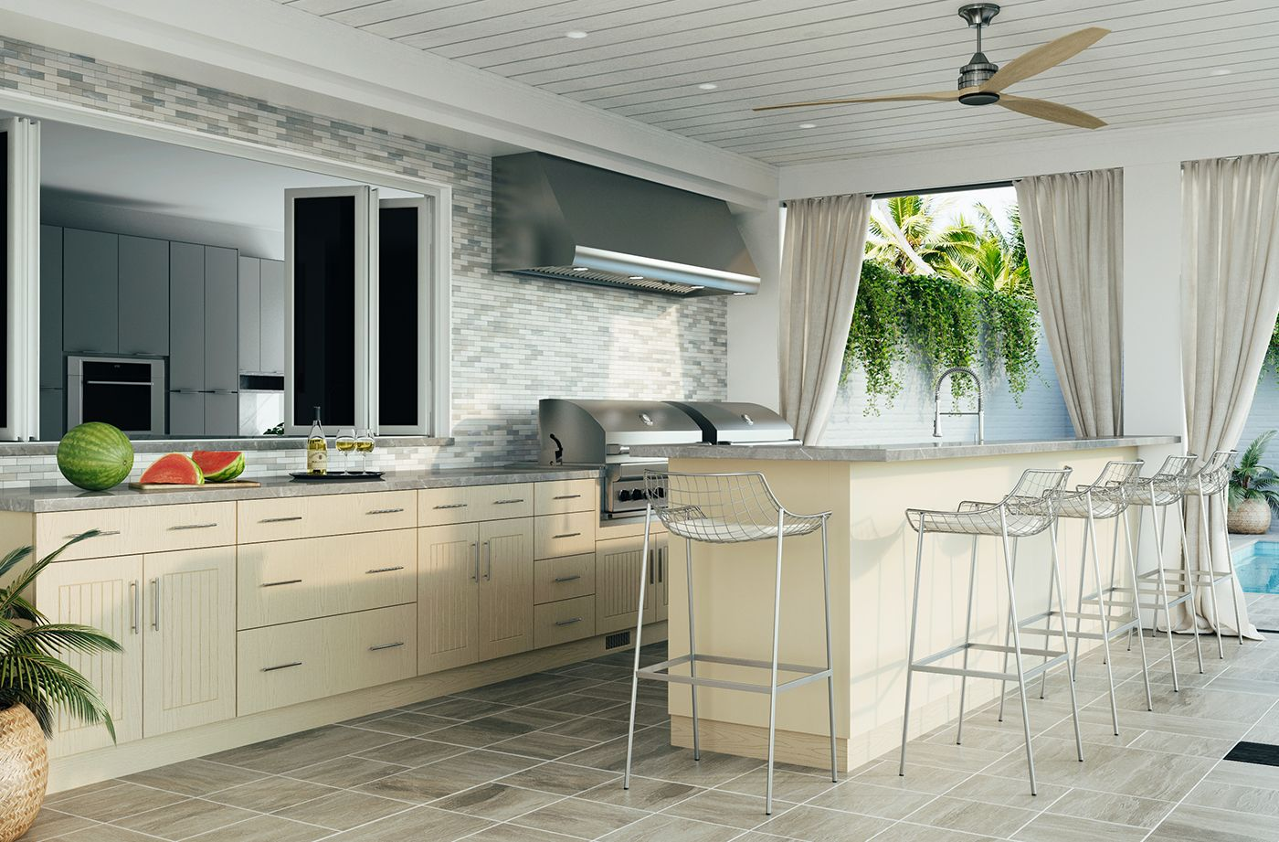 Costco Weatherstrong Outdoor Cabinetry In 2020 Outdoor Kitchen Cabinets Outdoor Kitchen Cabinetry