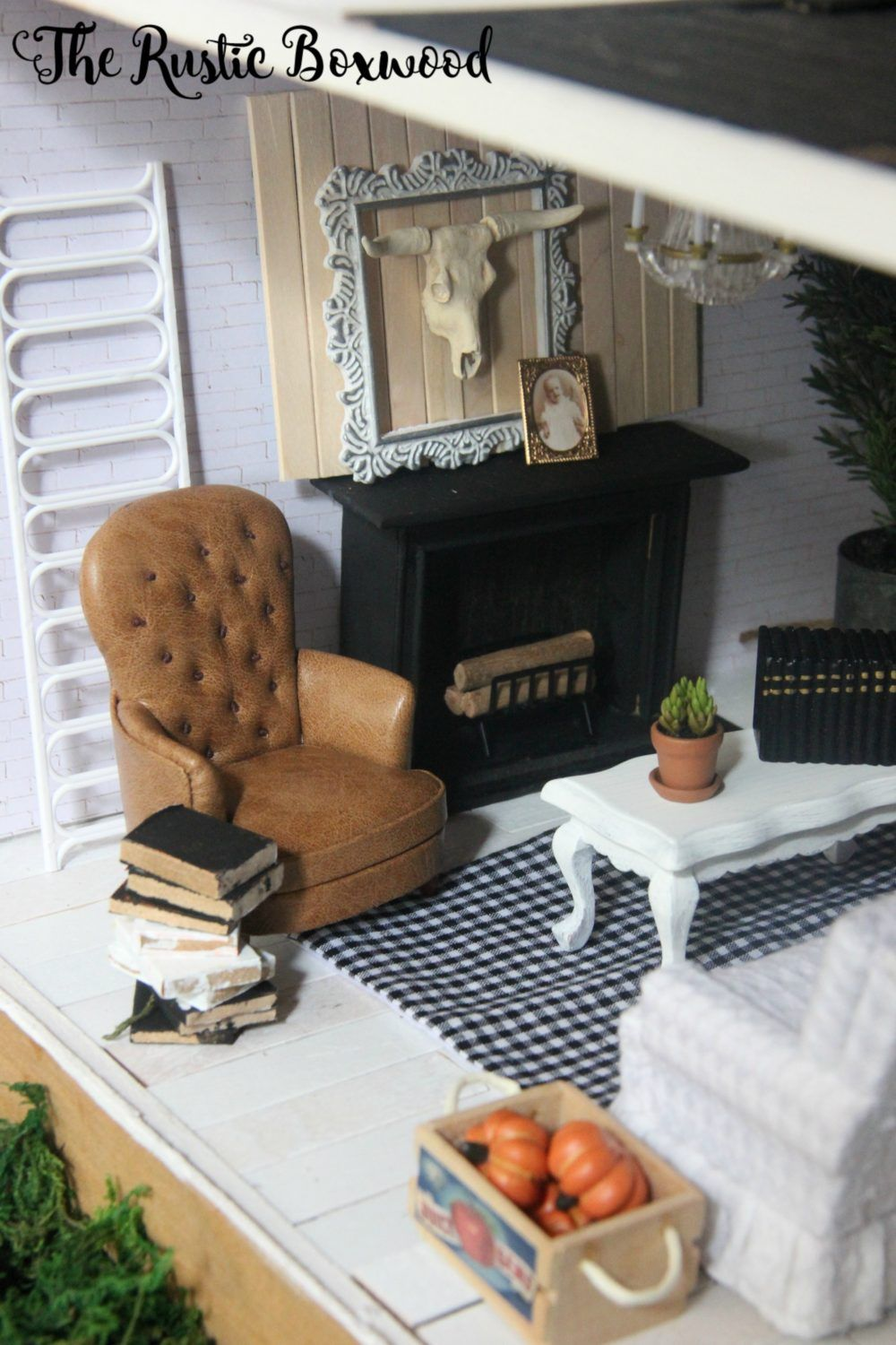 DIY, Farmhouse-Styled Dollhouse Makeover And A Giveaway
