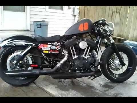 Sportster Forty Eight Drag Hopper Rat Rod Rat Bike Rat Rod Rat Bike Harley