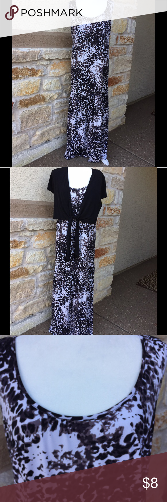 Maxi sleeveless dress customer support and delivery