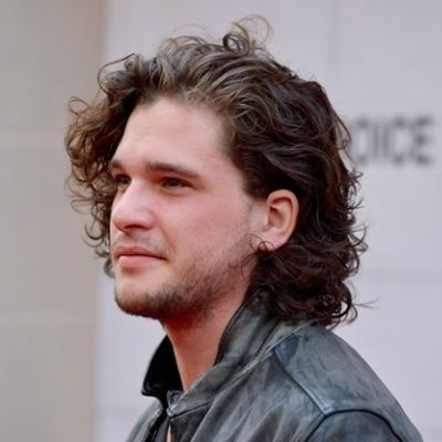 Marvelous Kit Harington Long Curly Dishevelled Hair. Menu0027s Hairstyles ...
