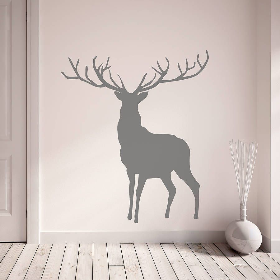 Stag And Deer Vinyl Wall Stickers Vinyl wall stickers Wall