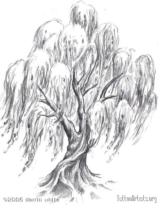 Sexy Tree Tattoo Designs For Women Pin Weeping Willow Tree Tattoo