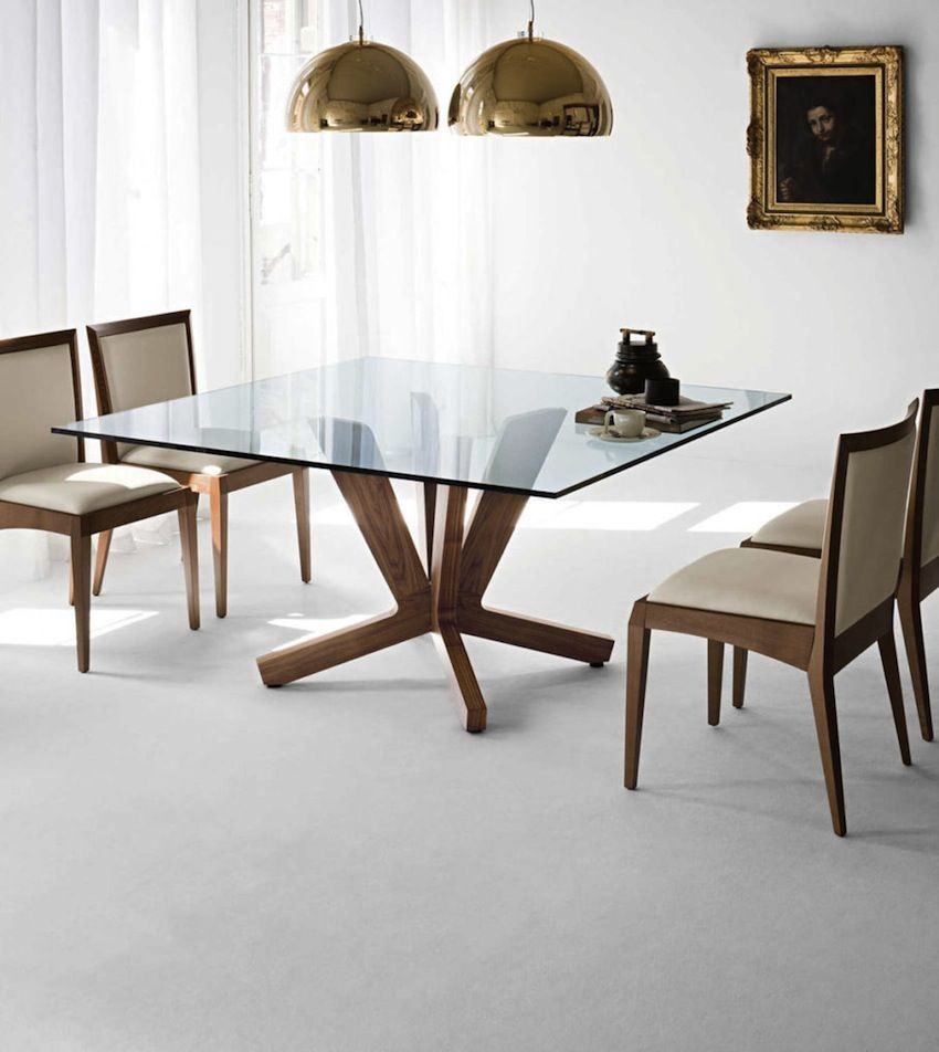 10 Charming Square Dining Table Ideas To Glam Up Your Home Decor Modern Dining Tables Dining Room Small Square Dining Room Table Square Glass Dining Room Table