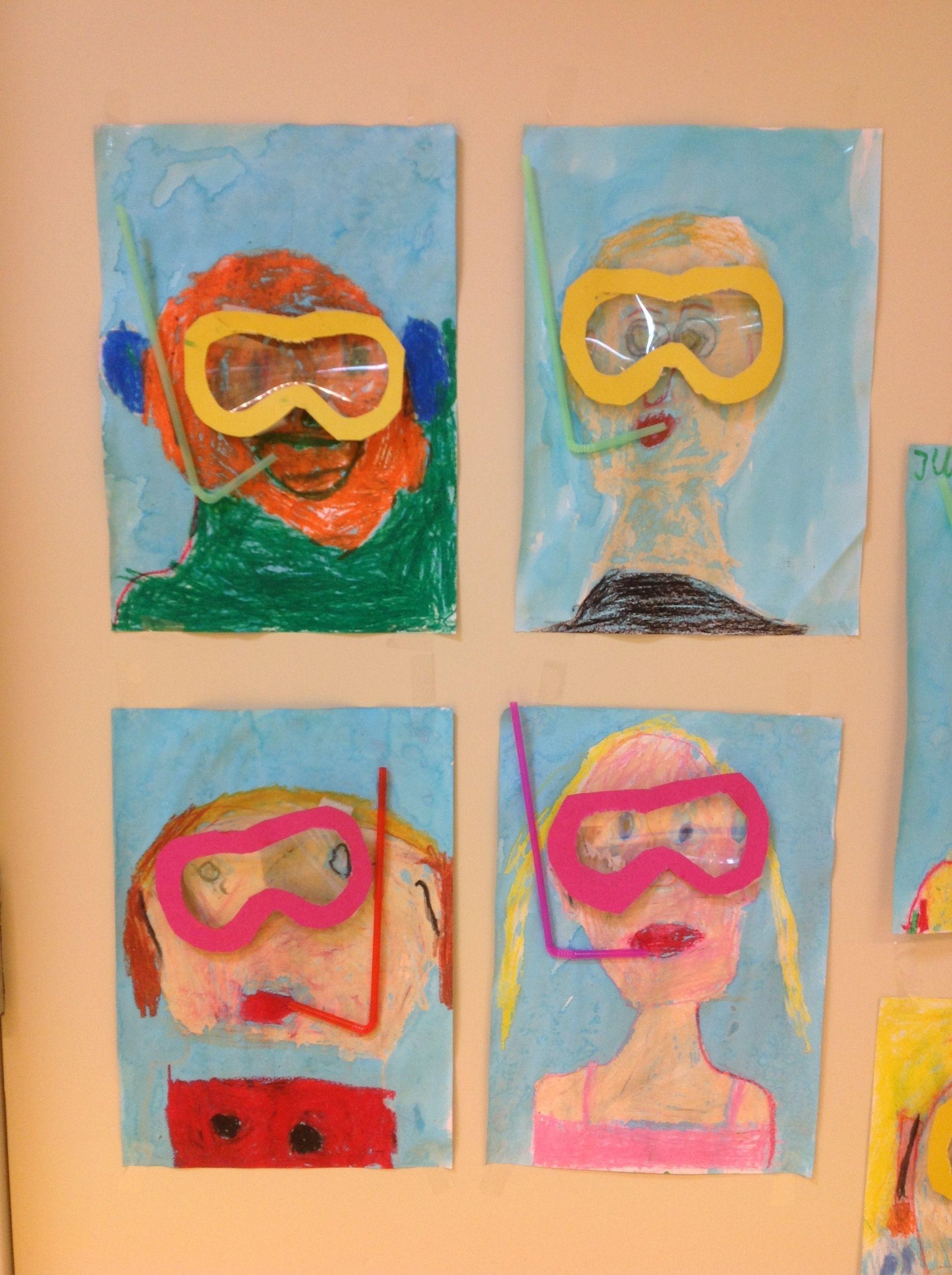 Genoeg Groep 3 onder water. ( juf Ingrid) | Klaar voor de start creatief @KP27