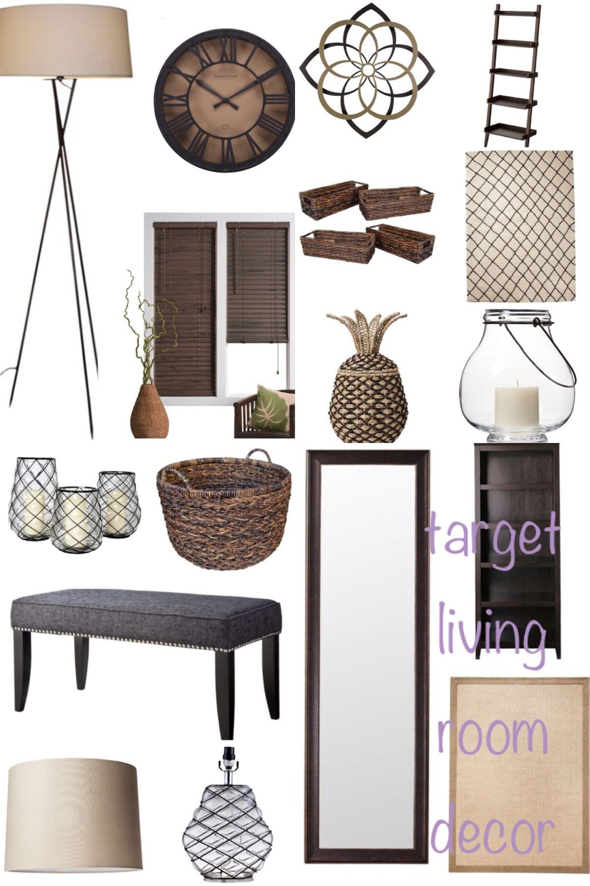 Target Living Room Decor Dream Home Pinterest