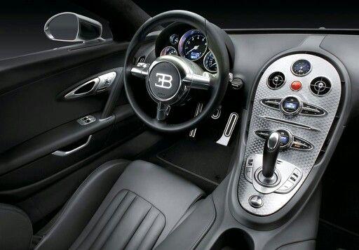 Bugatti veyron inside