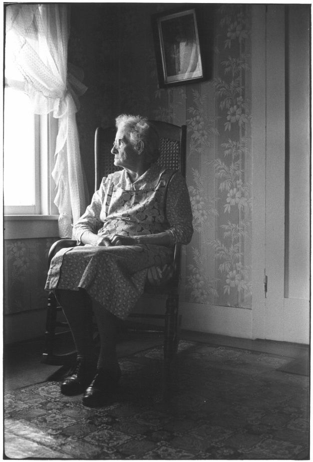 William Gale Gedney Grandmother In Rocking Chair