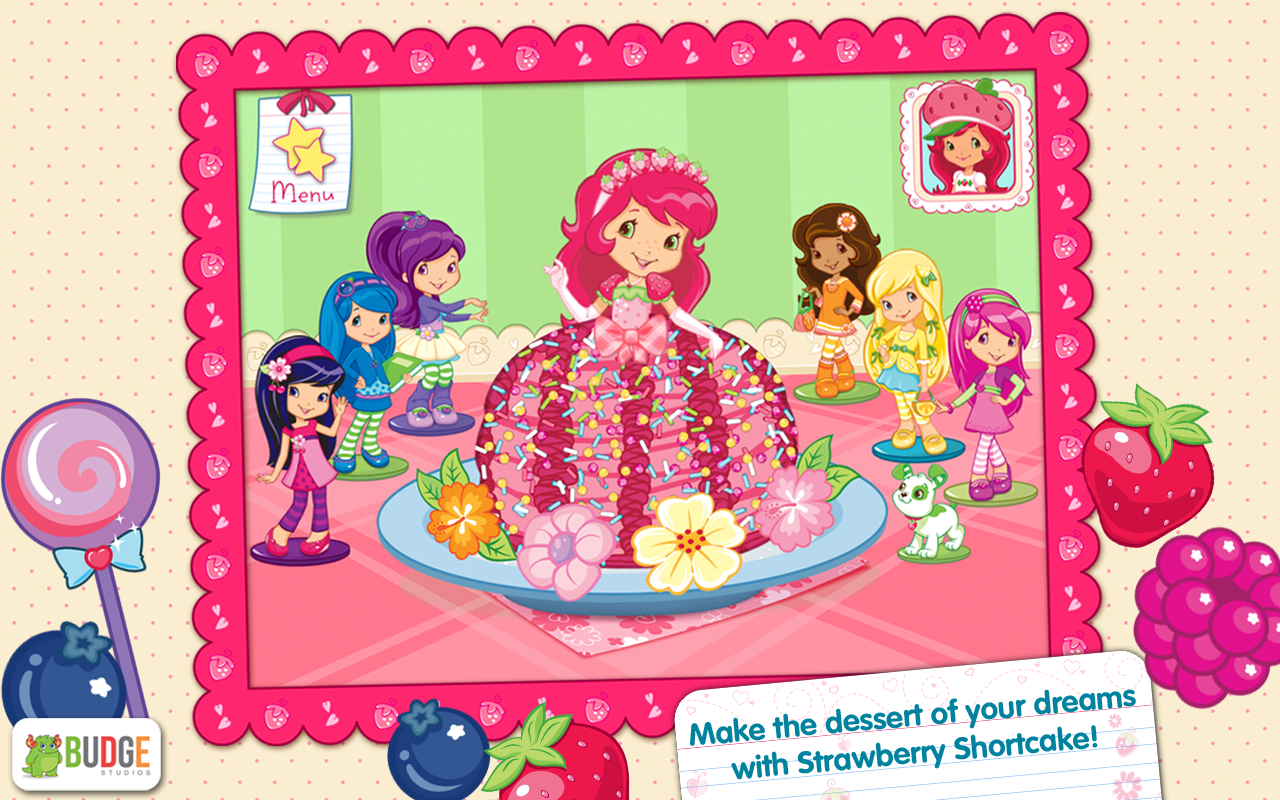 Strawberry Shortcake Bake Shop Dessert Maker Game for