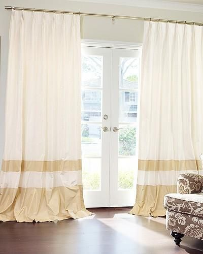Curtain idea for new porch doors Cortinas Pinterest Cortinas - cortinas para ventanas