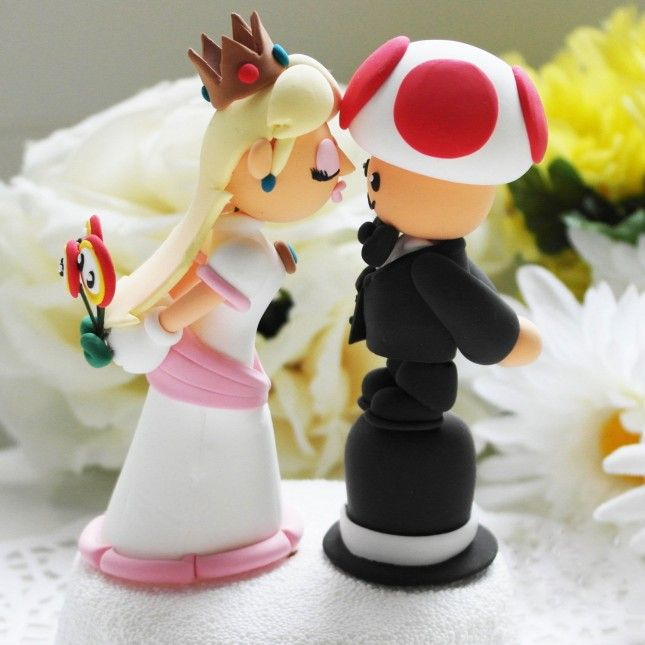 Oh, Etsy! The 17 Weirdest Wedding Cake Toppers Ever | Wedding cake ...