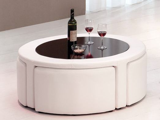 Coffee Table With Hidden Stools Coffee Table With Stools Trendy Coffee Table Coffee Table Square