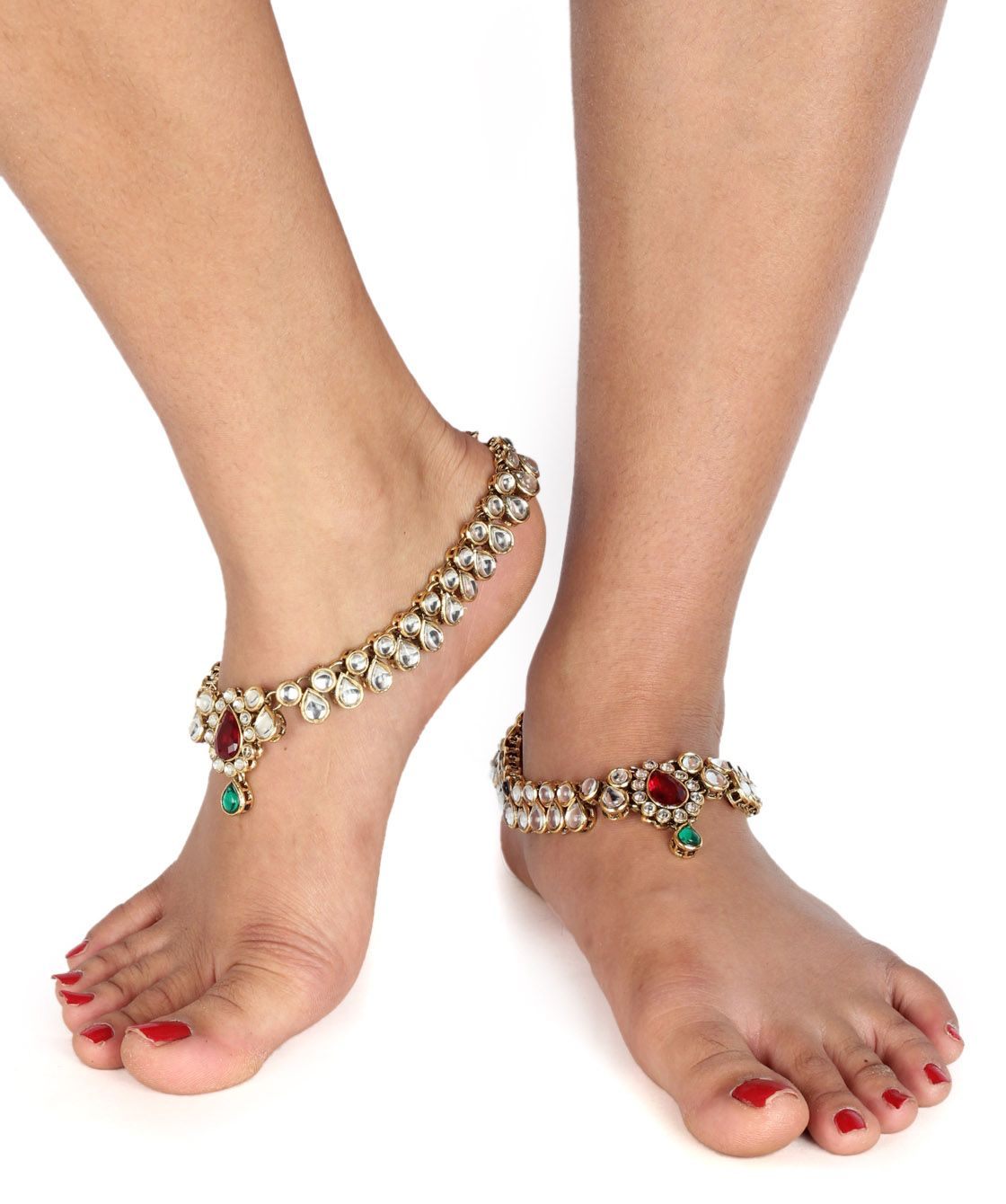 shopping pin metal golden anklet metals thong and