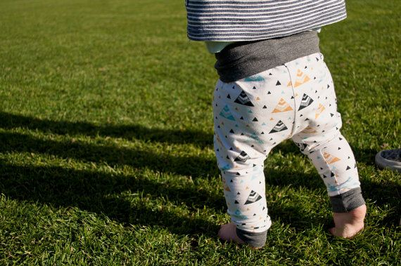 Boy And Girl Knit Fabric Legging Pattern Little Leggings In Size Baby Toddler Child Sizes A Pdf Sewing Pattern For Knits Size 0 3m To 5t Baby Leggings Pattern Jersey