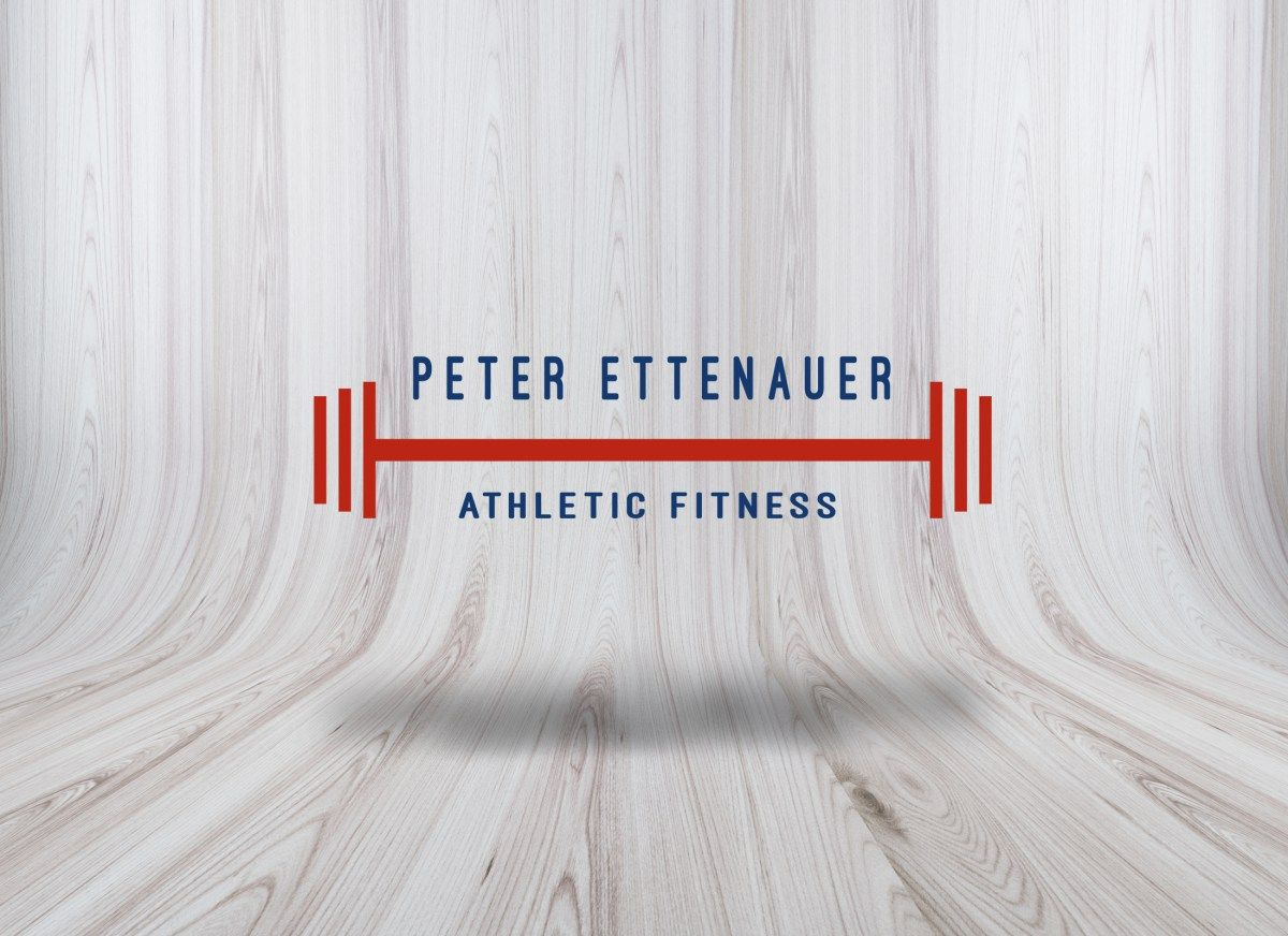 Logo Design Peter Ettenauer  certified personal trainer fitness