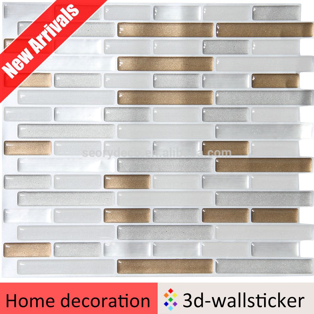 Peel And Stick Wall Tile Sticker Self Adhesive Wall Tiles Peel N Stick Backsplash Wall Tiles
