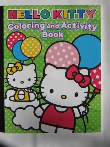 Hello Kitty Coloring And Activity Book By Sanrio 3 90 Cool Hello Kitty Theme Great Coloring Book Hello Kit Hello Kitty Coloring Kitty Coloring Hello Kitty