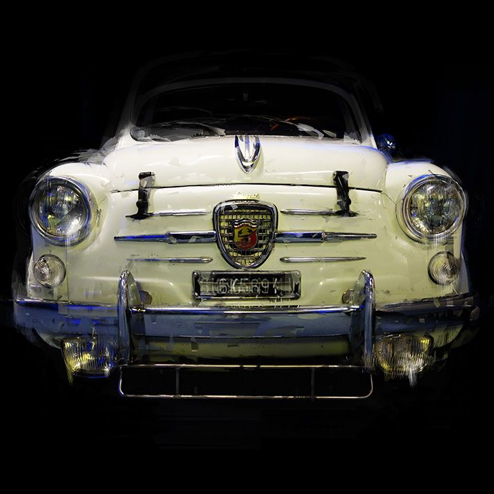 "Dhzimic: "" FIAT ABARTH 850 TC COACH 1963"