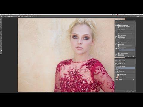 Lara Jade's Editorial Retouch Workflow - YouTube | snap snap