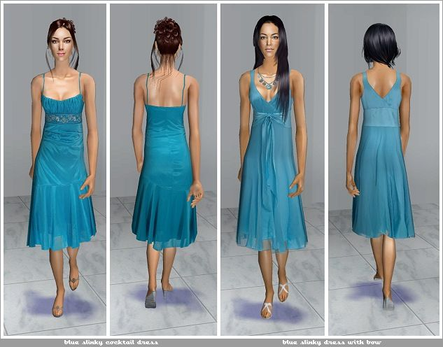 ModTheSims - Sugar Coma - 14 Formal Dresses