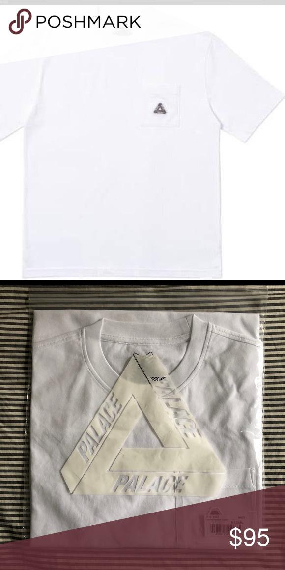 65cc5d0b Palace SS19 Sofar Pocket T-Shirt, White, Medium Brand new, still in ...