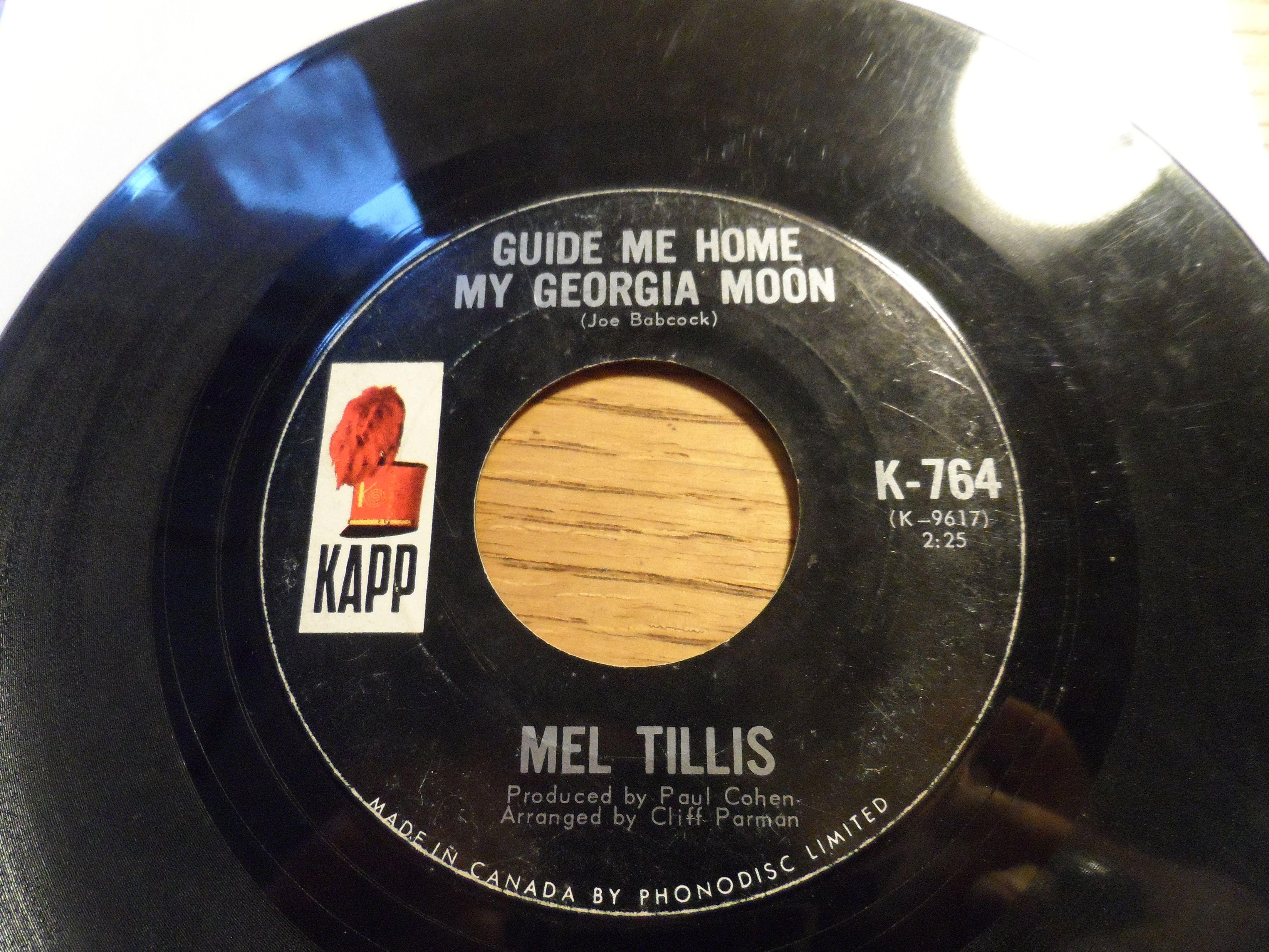 Mel Tillis Mental Revenge Label Kapp Records K 764 Format Vinyl 7 45 Rpm Single Country Canada Revenge Music Record Records