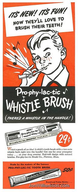 Whistle Brush - Yeah, like that would not get annoying every morning, listening to him blow his toothbrush!
