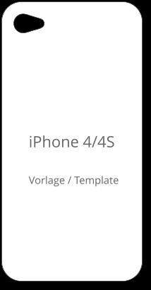 Iphone 4 4s Template Case Iphone 4 4s Handyhülle Vorlage Zum